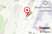 Схема проезда до компании МТОК в Иваново