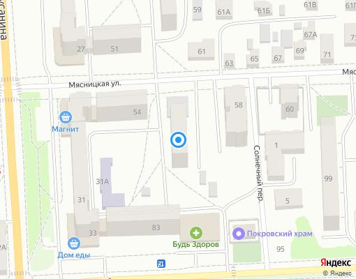 Товарищество собственников недвижимости «Мясницкая 56» на карте Костромы