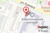 Схема проезда до компании Ивановский энергетический колледж в Иваново