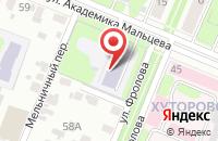 Схема проезда до компании Детский сад №34 в Иваново
