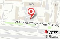 Схема проезда до компании ЛАН 37 в Иваново