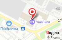 Схема проезда до компании Технологии в Иваново