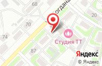 Схема проезда до компании Студия ТТ в Иваново