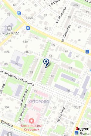 АВТОСАЛОН ГЕПАРД на карте Иваново