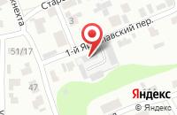 Схема проезда до компании Премиум Мебель в Иваново