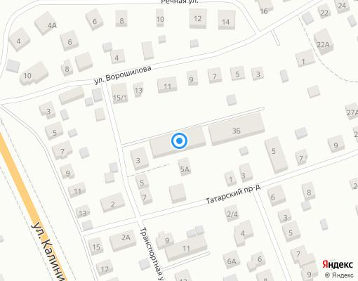 Товарищество собственников жилья «ул.Транспортная, д 3А» на карте Костромы