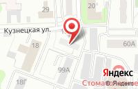 Схема проезда до компании ЛАДА ДЕТАЛЬ в Сосновке