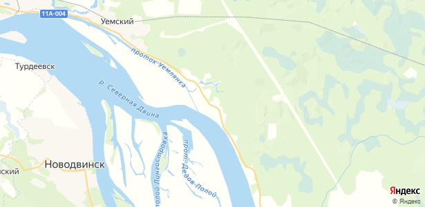 Черный Яр на карте