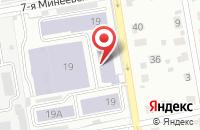 Схема проезда до компании Валетекс в Иваново