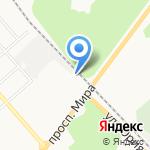 АКВАСИТИ на карте Костромы