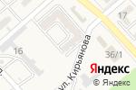 Схема проезда до компании Все для дома в Новокубанске