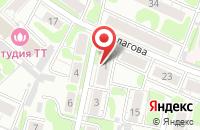 Схема проезда до компании АЛЬТА-СЕРВИС в Иваново