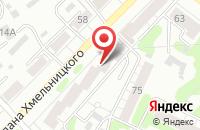 Схема проезда до компании Тайм в Иваново