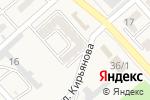 Схема проезда до компании Прелесть в Новокубанске
