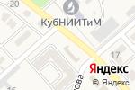 Схема проезда до компании У Жанны в Новокубанске