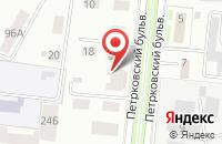 Схема проезда до компании Киндер в Костроме