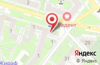 Схема проезда до компании Сантэк в Иваново