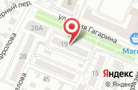 Схема проезда до компании САБИ в Иваново