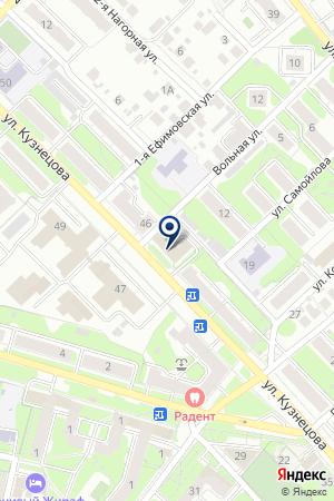 АДВОКАТСКАЯ ПАЛАТА ИВАНОВСКОЙ ОБЛАСТИ на карте Иваново