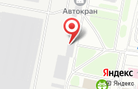 Схема проезда до компании Автокран в Иваново