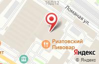 Схема проезда до компании РИАТОВСКИЙ ПИВОВАР в Иваново