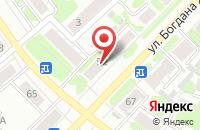 Схема проезда до компании ЗдравСити в Иваново