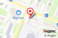 Схема проезда до компании Цезарь в Иваново