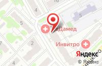 Схема проезда до компании ЛеДамед в Иваново