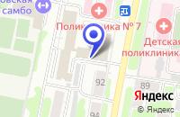 Схема проезда до компании ВНЕДРЕНЧЕСКАЯ ФИРМА ИНФОРМАТИКА в Иваново