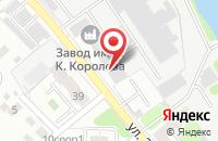 Схема проезда до компании БЕРЕГ в Иваново