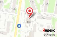 Схема проезда до компании Студия современной прически в Иваново