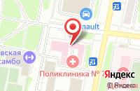 Схема проезда до компании Взрослая поликлиника №7 в Иваново