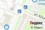 Схема проезда до компании Продовольственный магазин в Иваново