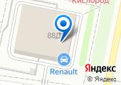 Renault на карте