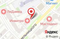 Схема проезда до компании АкваДом в Иваново