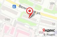 Схема проезда до компании Почтовое отделение №22 в Иваново