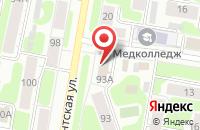 Схема проезда до компании Аплинк в Иваново