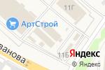 Схема проезда до компании Бумажный мир в Коляново