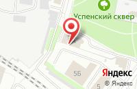 Схема проезда до компании Мост в Иваново
