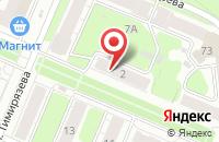 Схема проезда до компании Ангел в Иваново