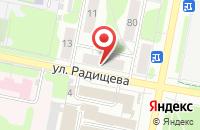 Схема проезда до компании Glam Rock в Иваново