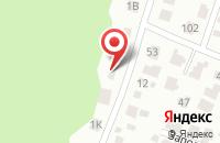 Схема проезда до компании Симге Текстиль в Иваново