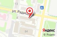 Схема проезда до компании Система Сервис в Иваново