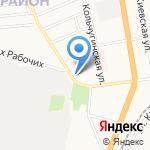 Детская библиотека №5 на карте Иваново