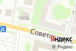 Схема проезда до компании Алана Стиль в Костроме