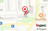 Схема проезда до компании Всероссийское общество инвалидов в Костроме