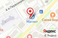 Схема проезда до компании Диана в Иваново
