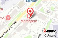 Схема проезда до компании Акцент в Иваново