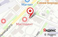 Схема проезда до компании Натали мебель в Иваново