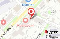 Схема проезда до компании Беатрис в Иваново